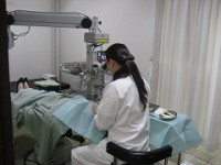 レーザー装備の外来手術室