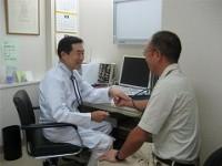 プライバシ-のある内科診察室